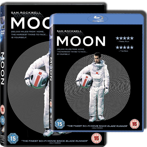 'Moon' UK DVD & Blu-Ray