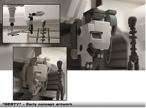 Moon: GERTY concept artwork