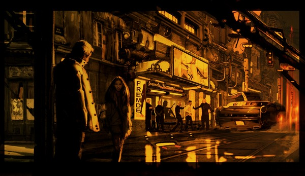Liberty Films 'Mute' concept art 1