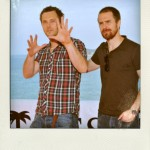 Sitges 2009 MOON Duncan Jones & Sam Rockwell Beach