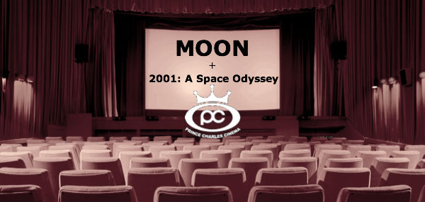 MOON & 2001: a space odyssey - at the Prince Charles Cinema