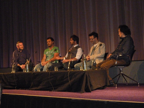 Moon Q&A at BFI Southbank 31st August 2010 (by @BFI)
