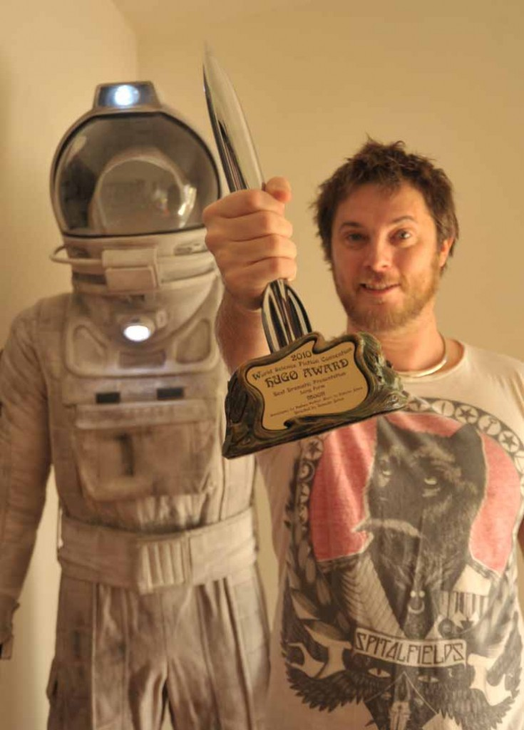Duncan Jones Hugo Award 2010 - By Rodene Ronquillo