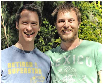 Chesney Hawkes & Duncan Jones - LA Feb 2011