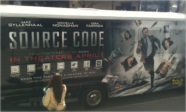 Source Code Promotional Van - SXSW 2011