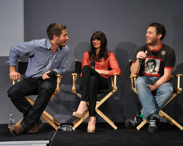 Jake Gyllenhaal - Michelle Monaghan - Duncan Jones - Apple Meet The Filmmakers 01 April 2011