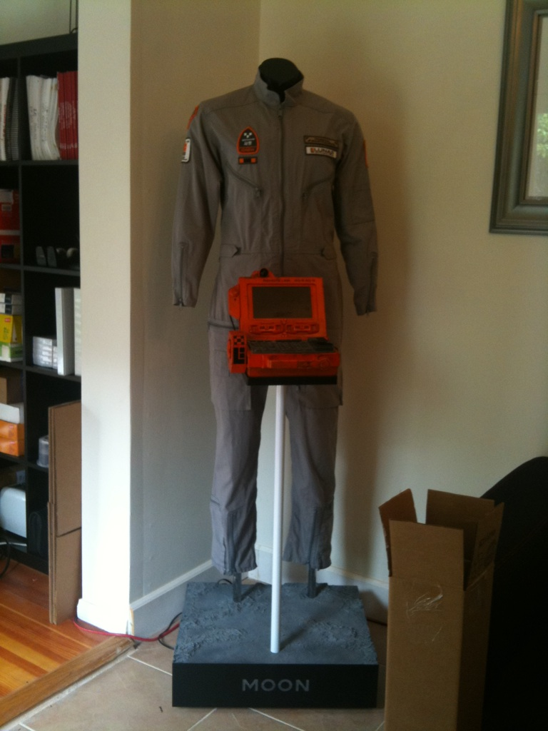 MOON Sam Bell Jumpsuit - From Duncan Jones Twitpic