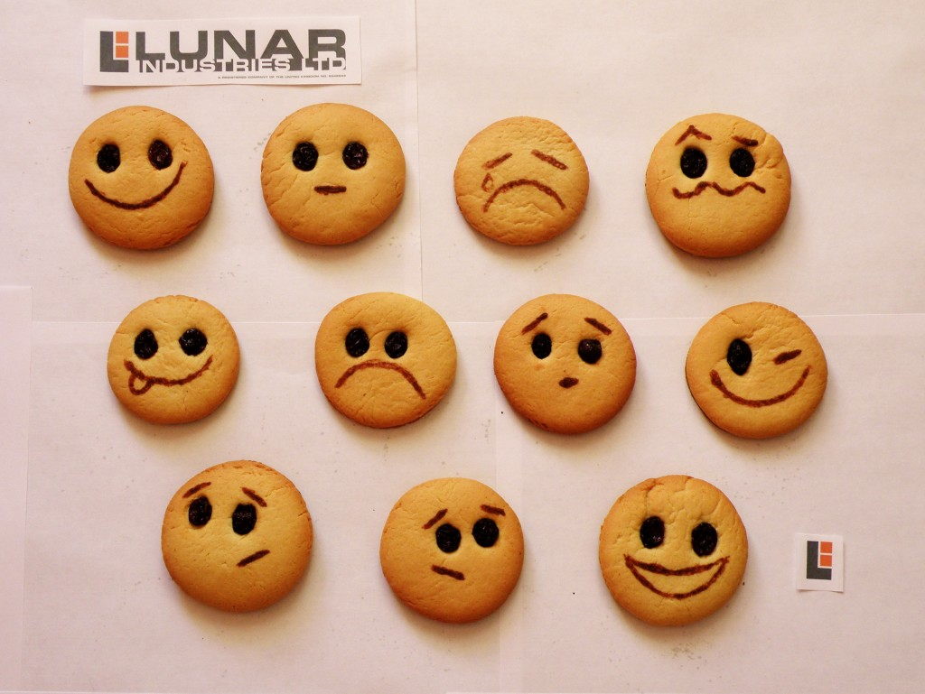 Lunar Industries GERTY Cookies from @Nashbrik for Duncan Jones' 40th Birthday