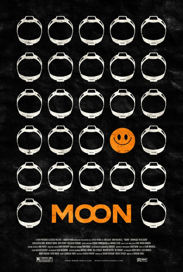 MOON Poster By Adam Rabalais