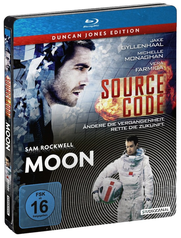 Duncan Jones Edition MOON Source Code Steelbook