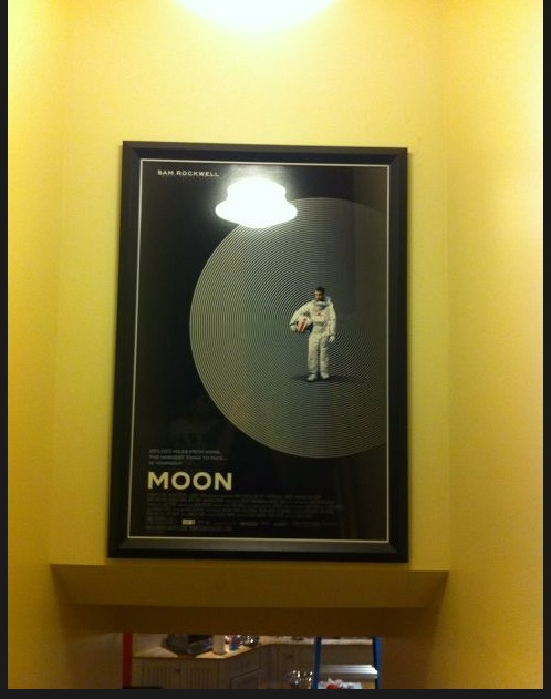 Joe Hill's Framed MOON Poster