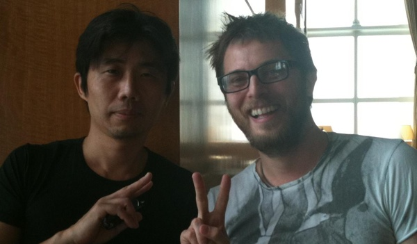 Rintaro Watanabe and Duncan Jones Oct 2011