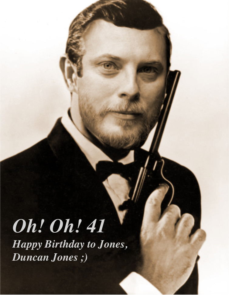 Happy Birthday Duncan Jones - 41 Today