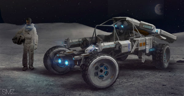 MOON Rover by Scott Zenteno