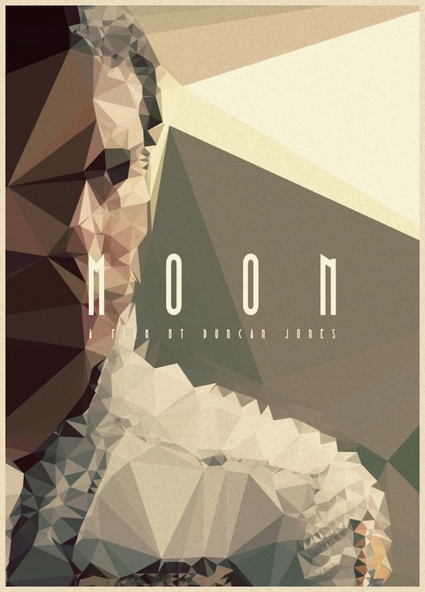 Lewis Harvey - MOON Poster