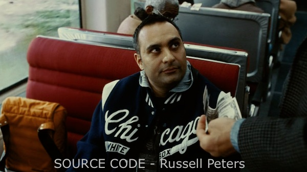Russell Peters accepts Jake Jake Gyllenhaal's challenge in Source Code