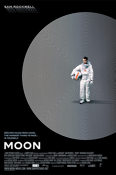 Duncan Jones' MOON - Poster from Dark Horse