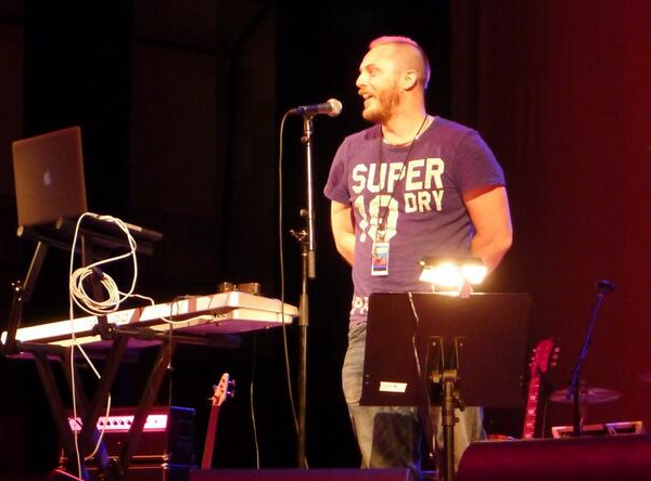 Duncan Jones Presents Clint Mansell LA Orpheum 6th April 2013 - photo by @moorghen