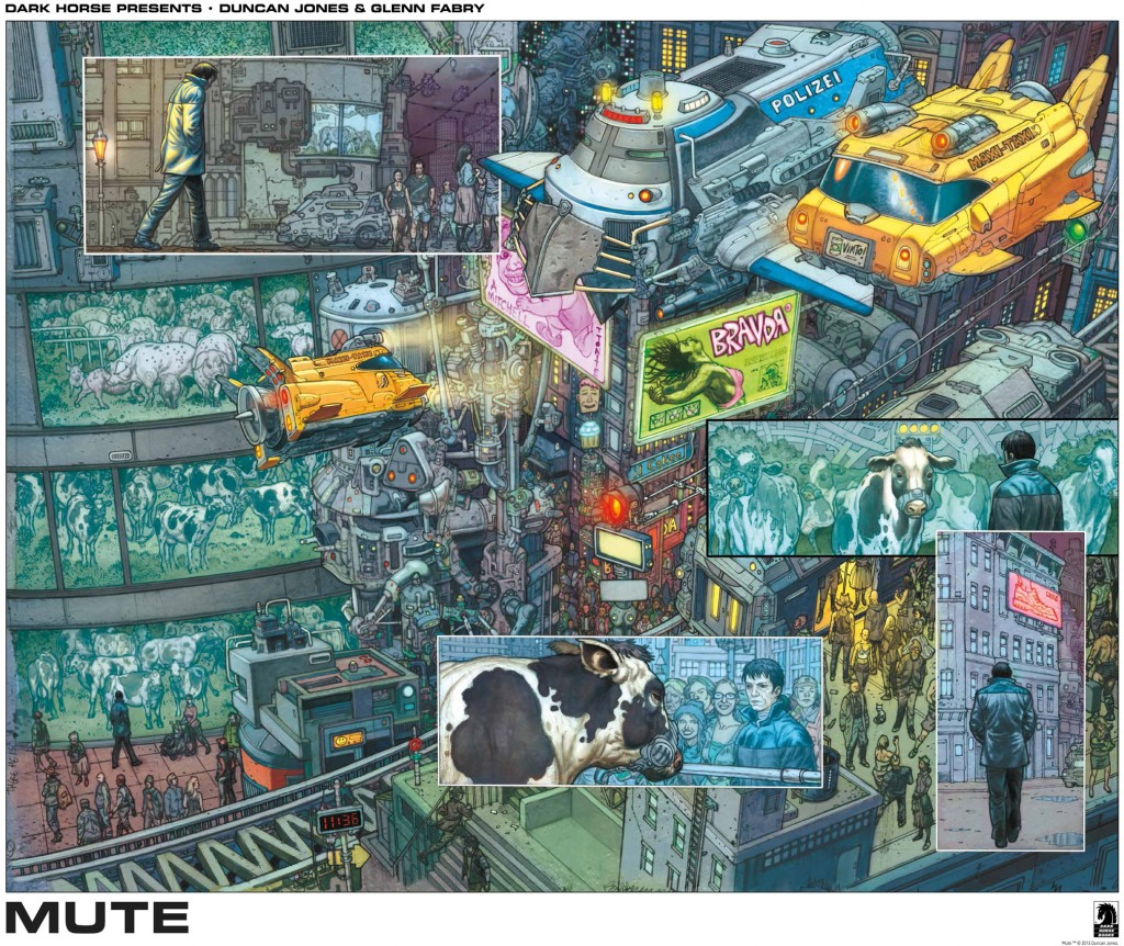 Dark Horse Presents Duncan Jones & Glenn Fabry - MUTE SDCC2013