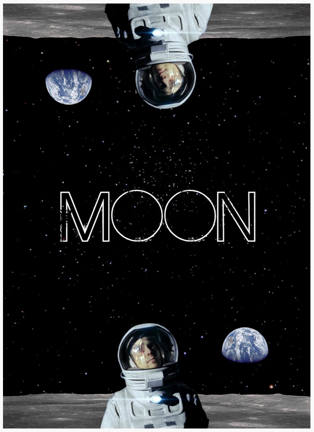 MOON Poster By Shannon Ward