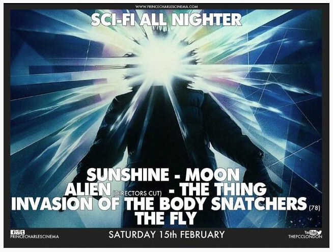 The Prince Charles Cinema Sci-Fi All Nighter
