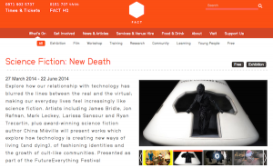 FACT Science Fiction: New Death