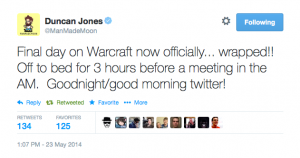 Duncan Jones Confirms WARCRAFT Wraps