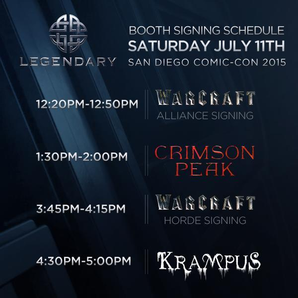 SDCC15 Legendary Saturday Signing Sessions