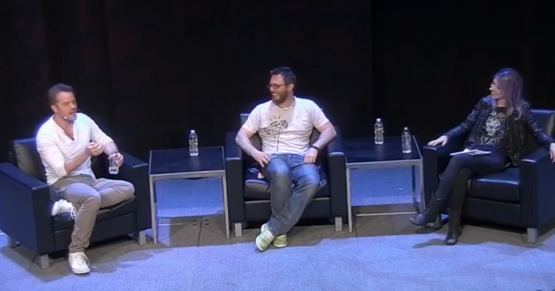Rob Kazinsky & Duncan Jones talk WARCRAFT with Michele Morrow at PAX East 2016 - Boston