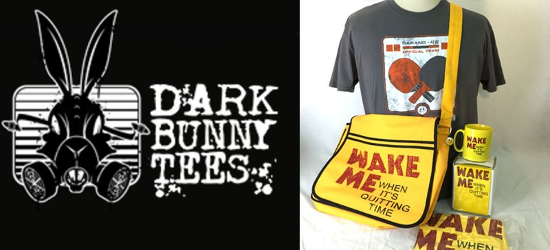 Dark Bunny Tees - MOON Range May 2016