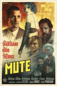 MUTE Poster By Paolo Rivera