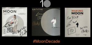 MOON Blu-ray Soundtrack Making Moon Signed #MoonDecade