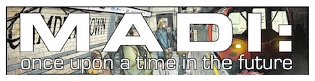 Duncan Jones Announces MADI: Once Upon a Time in the Future Graphic Novel