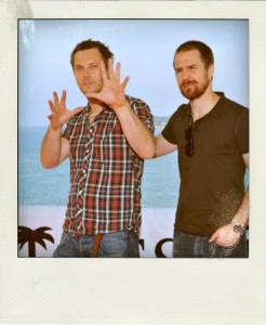 Sitges 2009 MOON Duncan Jones & Sam Rockwell Beach