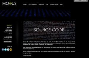 Modus Delivers VFX For Duncan Jones' Source Code
