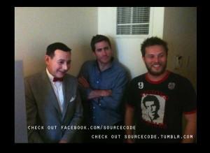Pee Wee Herman, Jake Gyllenhaal & Duncan Jones SXSW 2011 by Rodene Ronquillo