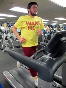 MOON - Charles Kline Sam Bell Treadmill