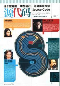 Source Code in Movie View magazine (China) 2011