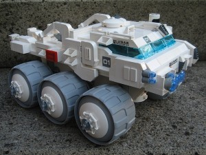 MOON Lego Lunar Rover by Ron Haller