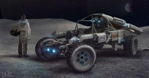 MOON Rover by Scott Zenteno