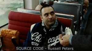 Russell Peters accepts Jake Jake Gyllenhaal's challenge in Source Code