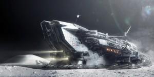 Lunar Harvester by Adam Burn