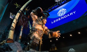 WARCRAFT SDCC Legendary Booth Ogrim Doomhammer