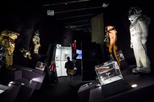 A Journey through Science Fiction MOON Suit In Exhibition (Photo: Tristan Fewings/Getty)