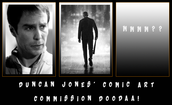 Duncan Jones' Comic Art Commission Doodaa!