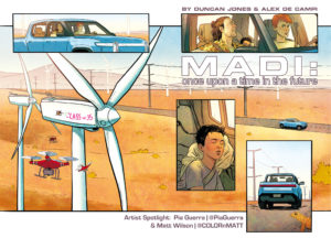 MADI Once Upon a Time in the Future: Artist Spotlight -Pia Guerra and Matt Wilson